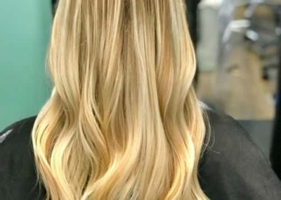 Blonde Back: Blonde Balayage haircolor